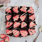 carrés aux deux chocolats
